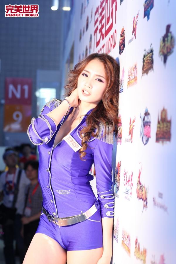 2012完美世界chinajoy超强美女阵容